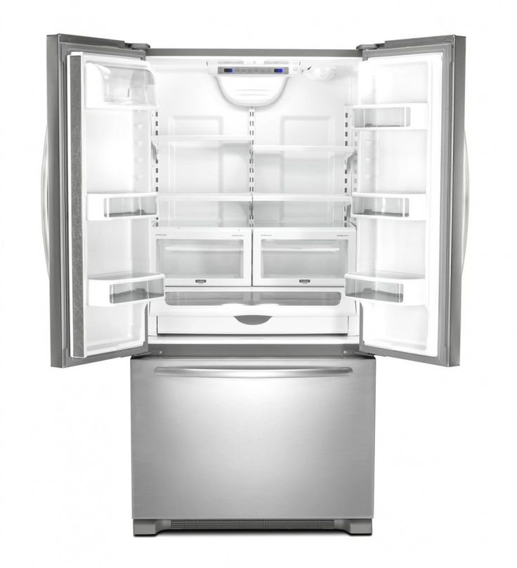KitchenAid Counter Depth French Door Refrigerator Empty Fridge