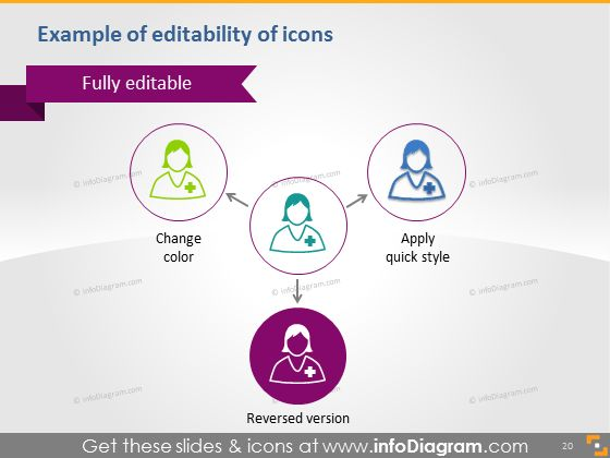 Healthcare Medical Pharmaceutical PowerPoint icons doctor pill PPTX