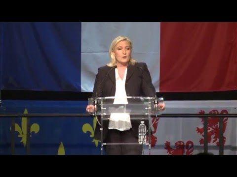 Politique - Discours de Marine Le Pen à Hénin-Beaumont (06/03/2015) - http://pouvoirpolitique.com/discours-de-marine-le-pen-a-henin-beaumont-06032015/