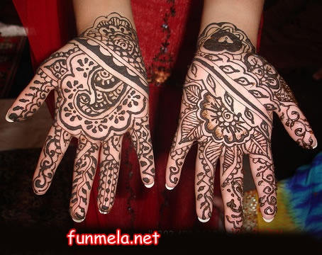 Latest mahndi Mehndi Design wallpapers, Paksitani Mehndi Design pictures, Indian Mehndi Design pics, funmela.net Hina Mehndi Picuter, Mehndi Design Picutre