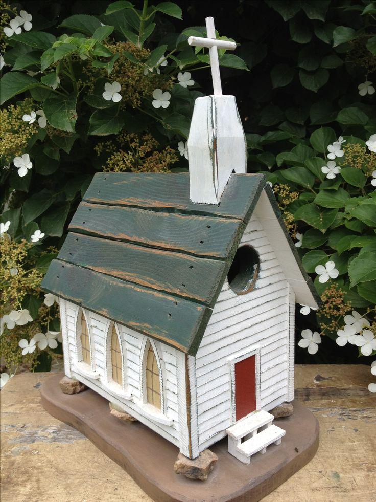 Church Birdhouse Church Birdhouses Pinterest Church