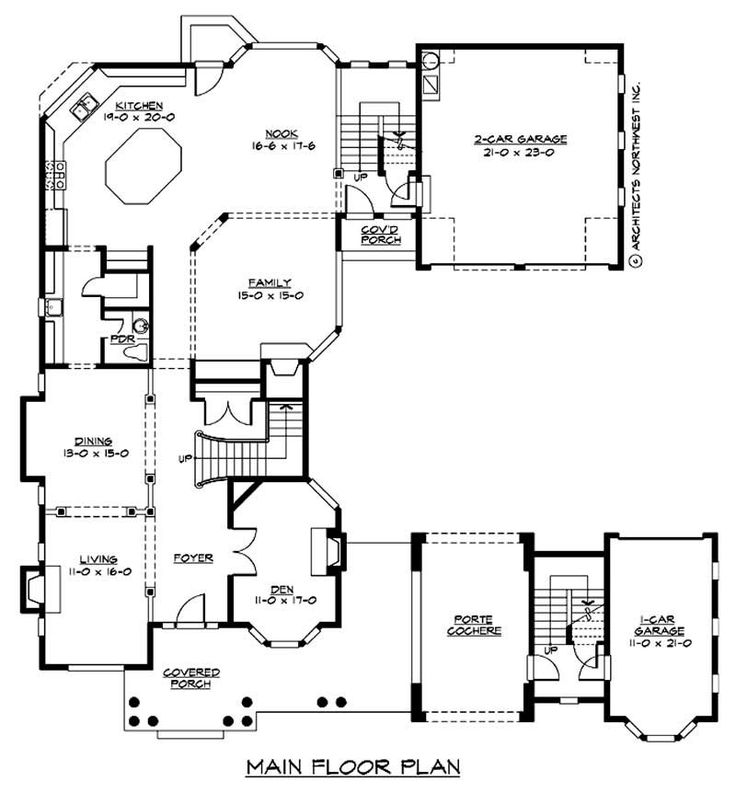 Main Floor Plan House Ideas Pinterest European Style