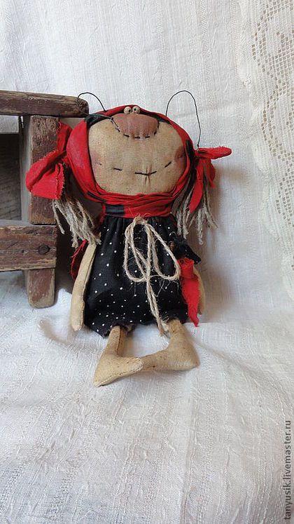Ароматизированные куклы ручной работы. Ярмарка Мастеров - ручная работа Маруся(божья коровка). Handmade.