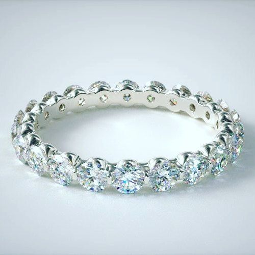 Eternity Band 18k white gold. Studded with best quality Diamonds. Your Beauty. We Enhance..  By Heneel Shah From Reflexions Jewellery Art  Starting Price in INR 5000 only  INQUIRE NOW: http://www.heneelshah.com/diamond-rings.html  #RealDiamond #Jewelry #Vadodara #Baroda #RaceCourse #rings #ReflexionsJewelleryArt