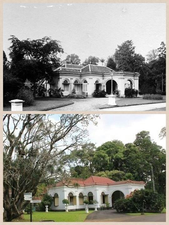 Bandung then and now.
