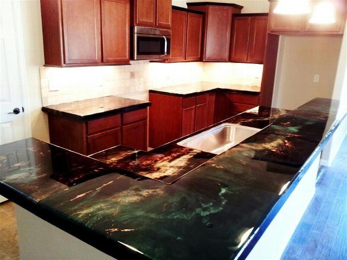 Home Diy Countertop Bar Top And Flooring Epoxy