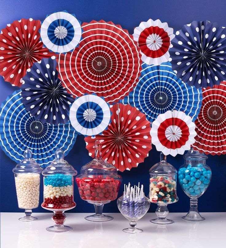 I'm ordering our #4thofJuly Patriotic Decoration Today So I'll Be Ready When The Fay Arrives For Our Annual #fourthofjuly BBQ and Swim Party! AD #decorations #decor #RedWhiteBlue #BBQ #Pool