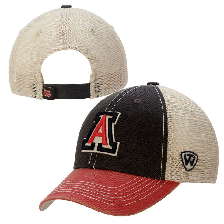 Arizona Wildcats Top of the World Offroad Trucker Adjustable Hat - Navy Blue