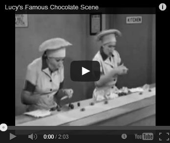Chocolate Taster!   It's not quite like Lucy and Ethel in the Candy Factory, and the jobs are scarce, but what a DREAM JOB! According to most research, jobs usually go to younger women because they generally have a more keen sense of smell.   Or, be a Chocolate Consultant. Some companies offer great part-time, entrepreneurial opportunities like Lindt Chocolate who advertise their home party Business Starter Kits for just $124. How bad can that be?