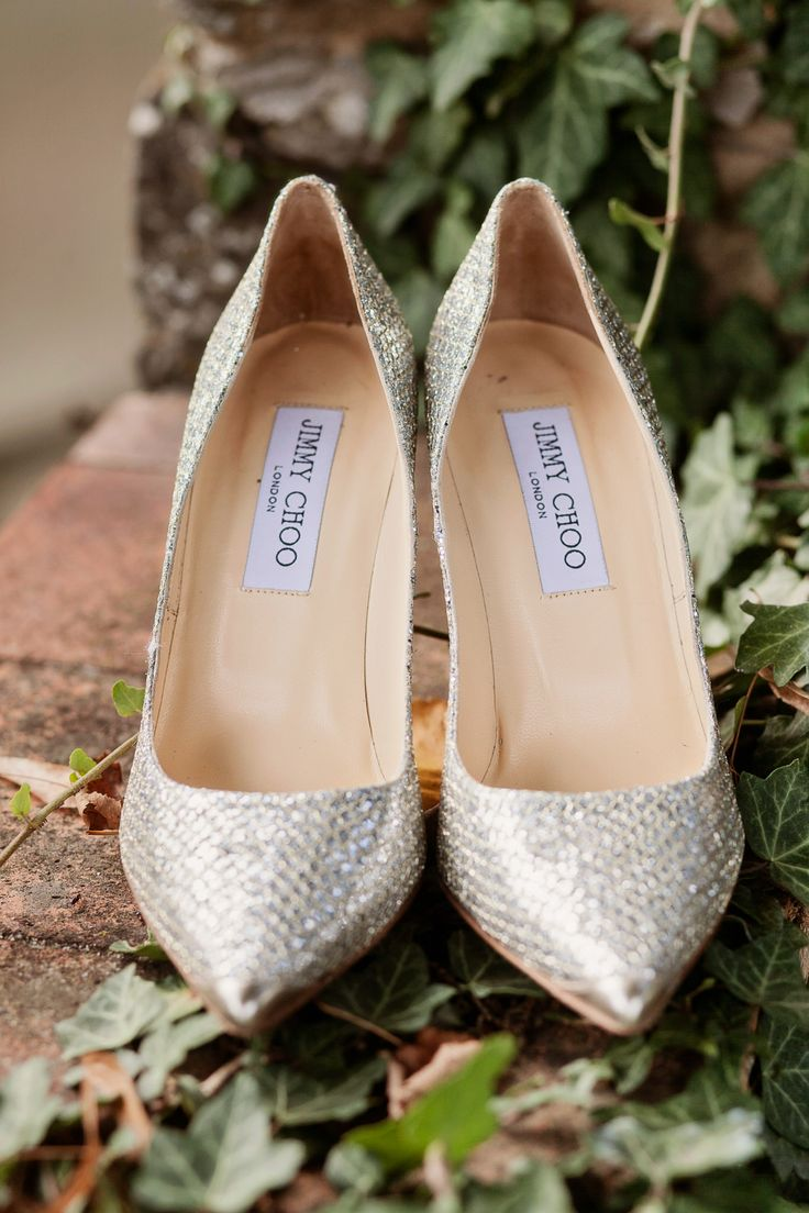The amazing bride shoes