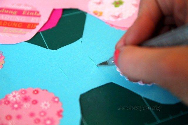 DIY Schmetterling Geburtstagseinladung   Einladungen basteln   Mädchengeburtstag   waseigenes.com