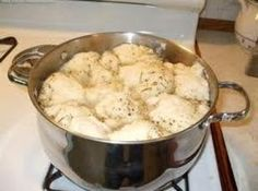 Old Time Chicken with Bisquick Dumplings Recipe