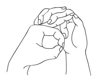 Мудра для горла — эффективное лечение трахеита. Мудра для горла применяется, когда воспалено горло, точнее слизистая оболочка дыхательного горла — трахея. | http://omkling.com/mudra-dlja-gorla/