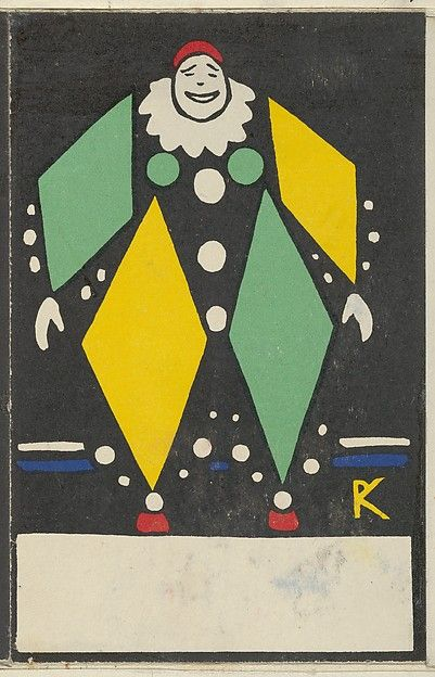 Rudolf Kalvach (Austrian, 1883–1932). Clown, 1907. The Metropolitan Museum of Art, New York. Museum Accession, transferred from the Library.(WW.94)