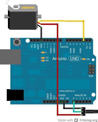 Dans cette partie, voyons comment interfacer un servo-moteur avec Arduino. Étudions aussi ses particularités et comment il fonctionne.