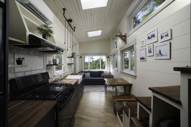 best 20 tiny home trailer ideas on pinterest tiny house trailer tiny house exterior wheels. Black Bedroom Furniture Sets. Home Design Ideas