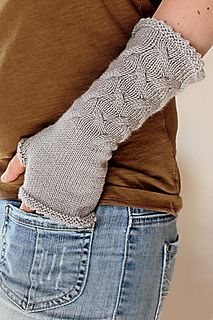 Knitting pattern: After the Frost Mitts