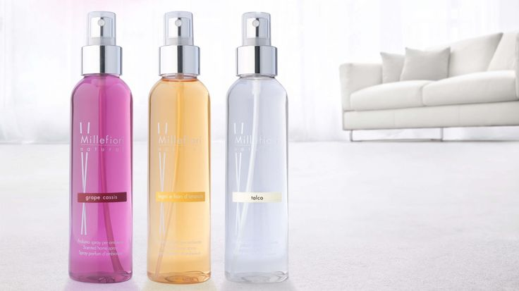 MILLEFIORI Milano serie NATURAL Home spray  www.stilemisto.it