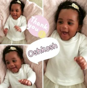 Pink, Girl, gerber baby, osh kosh, disney baby, babies r us , toys r us, play skool, mommy and baby, pretty as mommy, make up, red lipstick, baby model, cute, insta baby, trendy kiddies,