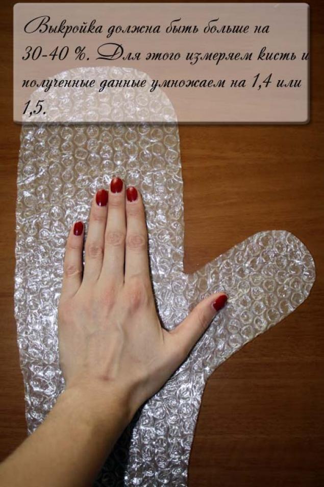 Войлочные варежки - Ярмарка Мастеров - ручная работа, handmade