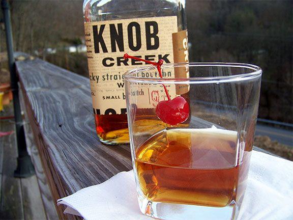 Presidents Day:  Knob Creek Manhatten Cocktail