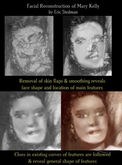Facial reconstruction of Mary Kelly, Jack the Ripper final victim