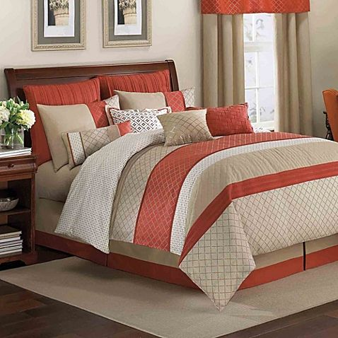 Brighten up your bed with the beautiful Pelham Comforter Set. Adorned with allov...