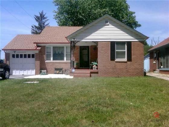 Indianapolis IN...Cozy all brick home in move in condition. Many updates to include newer roofnewer furnace and AC and updated kitchen. Fully fenced in backyard with deck. This home is located close to such amenities as multiple golf coursesparksIUPUI and downtown Indianapolis.