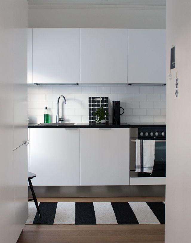 17 mejores ideas sobre alfombra en blanco y negro en for Cocinas en blanco y negro