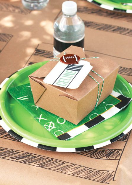 Football Backyard Party Ideas for Kids Hostess with the Mostess