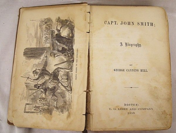 shopgoodwill.com: 1859 Capt John Smith Pocahontas Biography RARE!