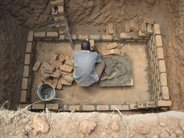 Pit Toilets Construction : Best images about how to construct a pit latrine on