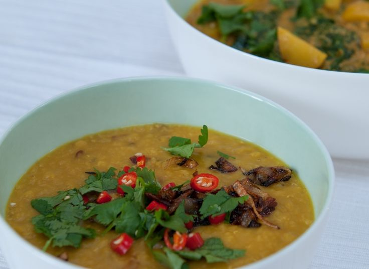 Simple dahl - This low #GI/GL meal helps to support balanced #blood sugar and energy