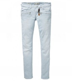 Maison Scotch La Parisienne Zip Jeans