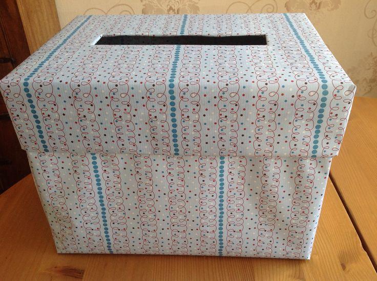 Cadeaubonnen/geldenveloppen doos