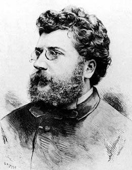 """Georges Bizet (formally) Alexandre César Léopold Bizet, (25 October 1838 – 3 June 1875)  French composer of """"Carmen"""""""