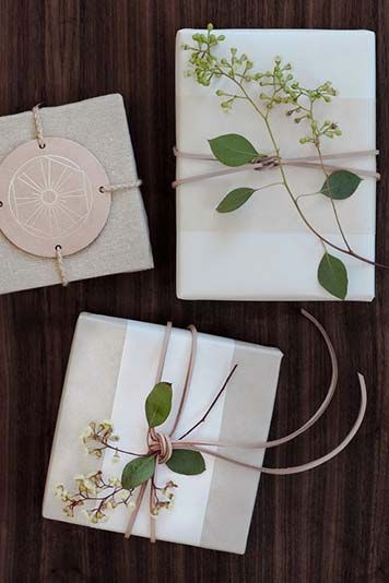 Gift Wrapping Ideas | EyeSwoon - Wrapping by Simone LeBlanc