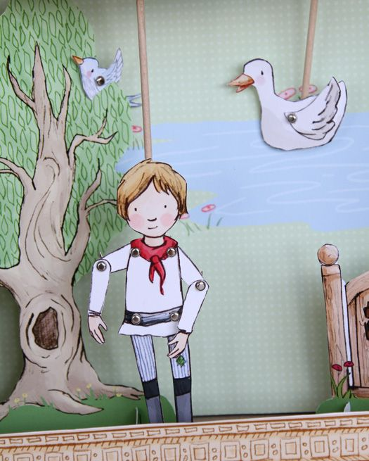 Downloadable puppet theater to Peter and the Wolf. Excellent !!!!