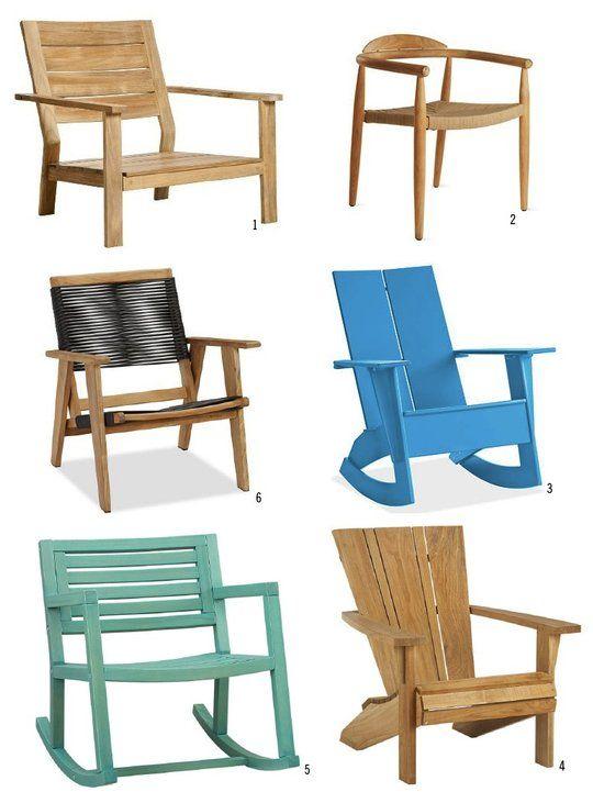 Al Fresco Wonderful Wooden Outdoor Chairs