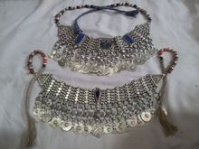 yeni varış 2015 Hint sterlini moda tasarımcısı gelinlik gelinlik kostüm antika mücevher kolye