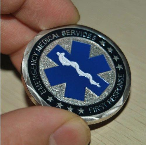 US MINT |US EMT EMERGENCY MEDICAL SERVICES BADGE Collectible