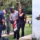 June 27, 2015: Bree Newsome, a 30-year-old African-American woman, was arrested at the state capitol of South Carolina after scaling the 30-foot flagpole and unhooking the Confederate flag. As police officers shouted at her to come down, Newsome shimmied to the top, took the flag in her hand and sai...June 27, 2015: Bree Newsome, a 30-year-old African-American woman, was arrested at the state capitol of South Carolina after scaling the 30-foot flagpole and unhooking the Confederate flag. As…