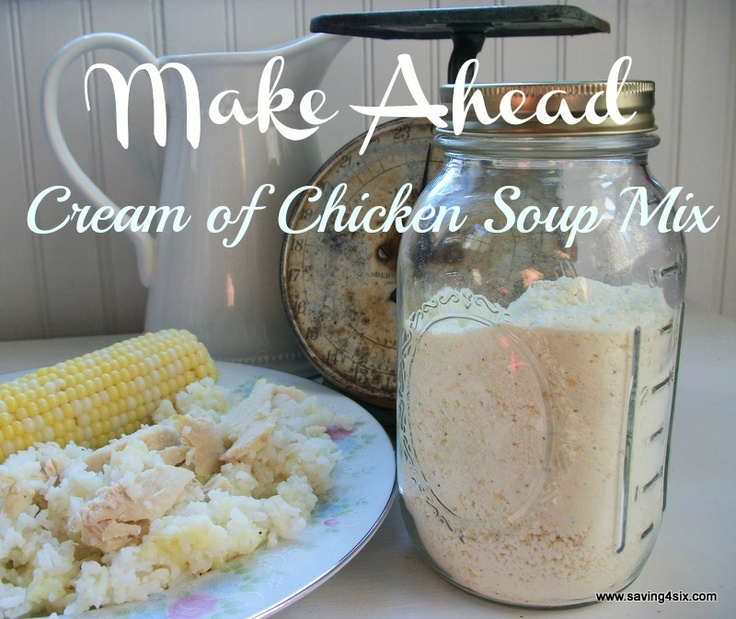 how to make lactose free cream of chicken soup