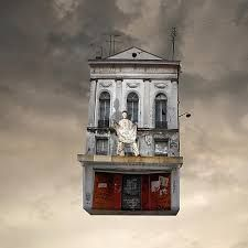 Image result for flying houses laurent chehere