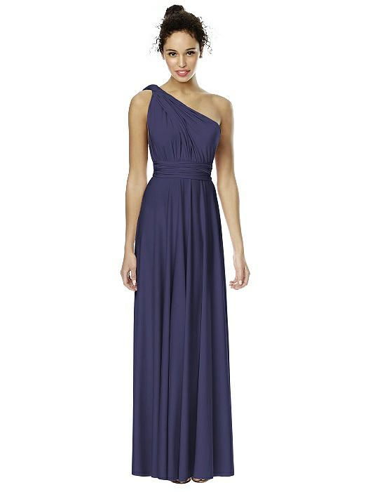 b856f0eed82f Change the wrap to change the look with this full-length Twist Wrap  convertible dress
