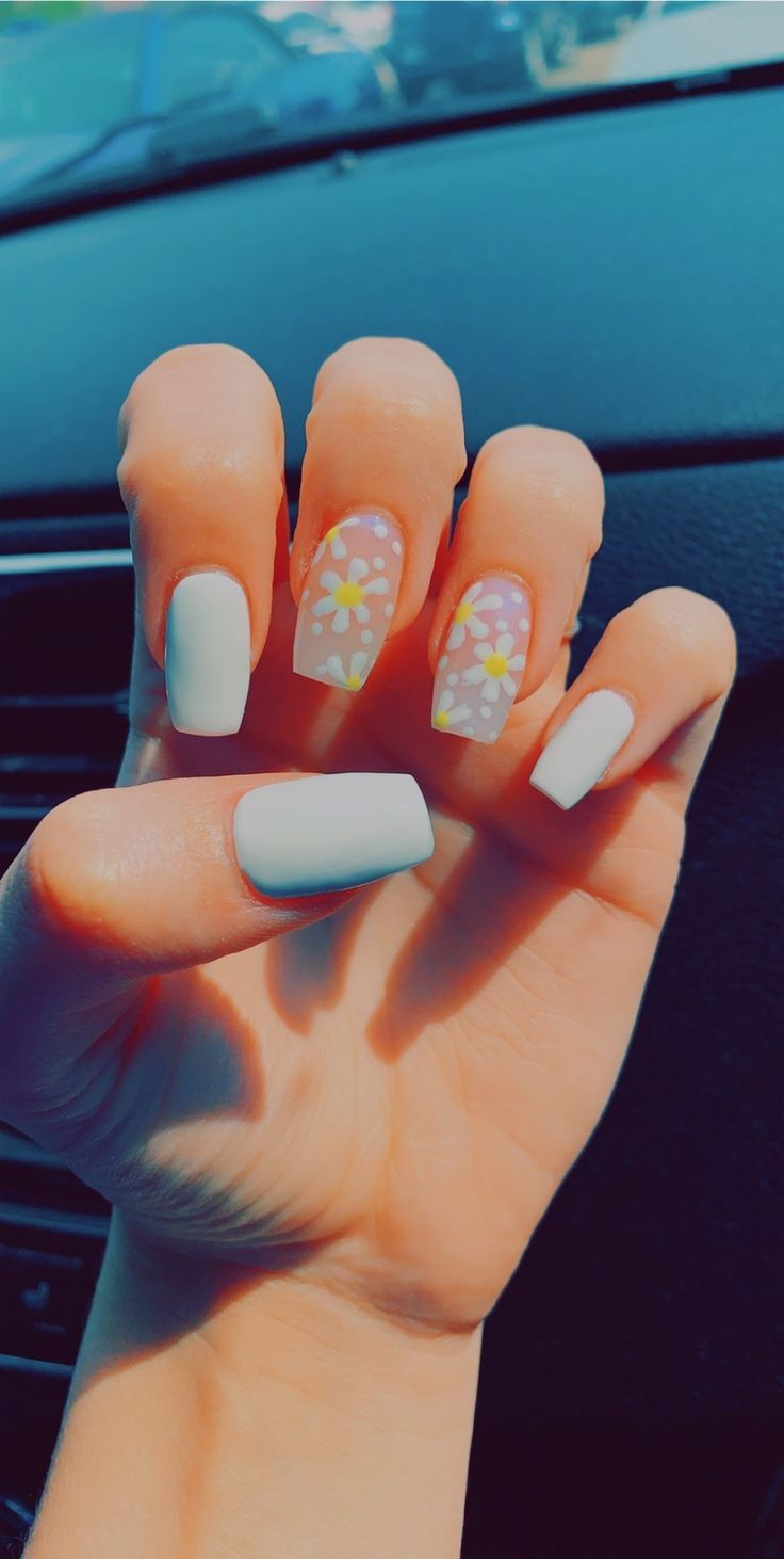 Nails Solids Designs Accents Nailart Naildesigns Accentnails Style Fashion Love Swag Nails Pretty Acrylic Nails Summer Acrylic Nails