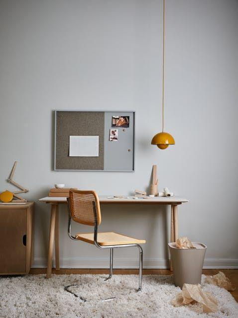 Lovely Minimalist Scandinavian Home Office Decor