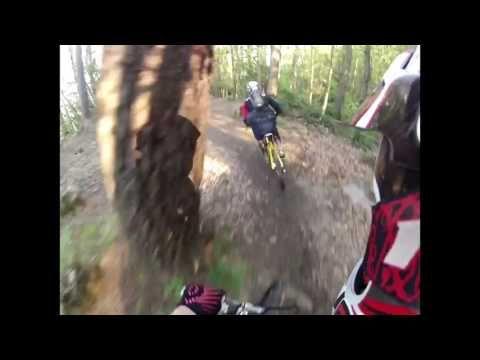 Riders Down from Monte Pollone. Portofino.