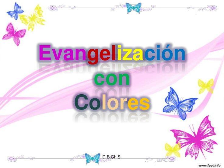 Evangelizaci n con colores diferentes formas de llevar el - Manualidades para adultos ...
