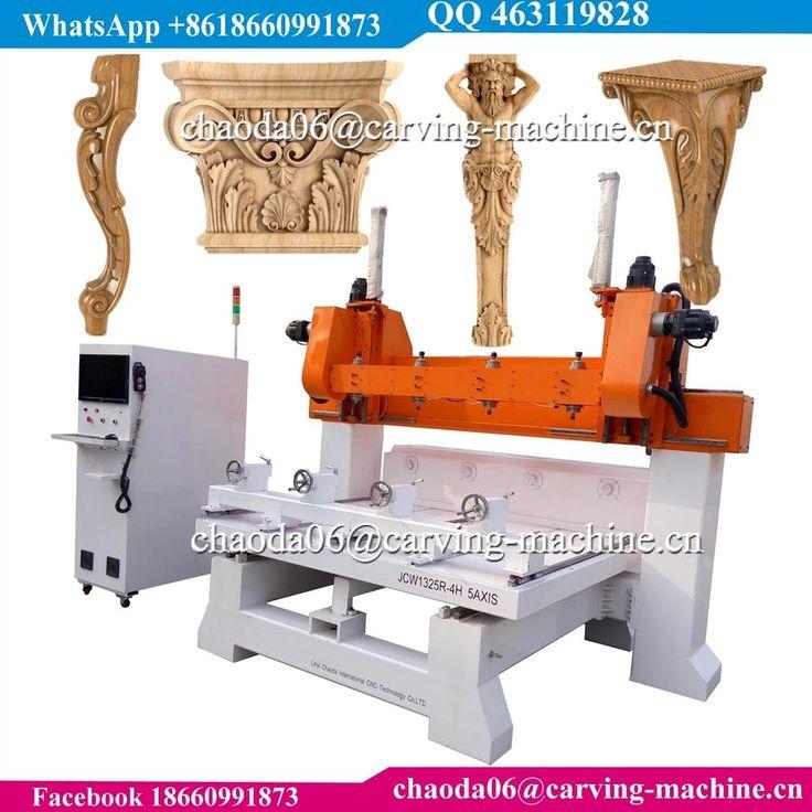 3D Corbel Pilaster Capital Column Antique Furniture Leg Lion Baluster Stair 5 Axis CNC Wood Carving Machine, CNC Router Machine